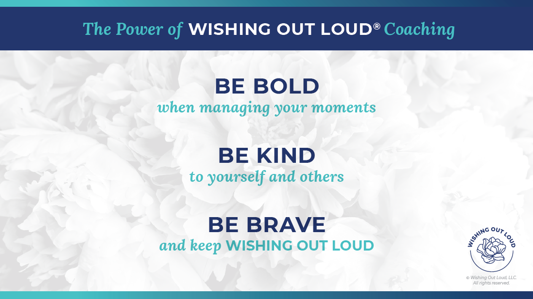 the Power of Wishing Out Loud slide